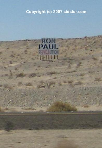 Ron Paul R3VOLUTION Billboard